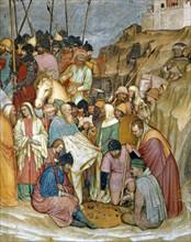 Da Zevio, The Crucifixion (detail)