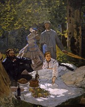 Monet, Lunch on the Grass