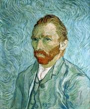 Van Gogh, Portrait of the artist