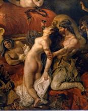 Delacroix, The Death of Sardanapalus (detail)