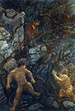 """""""La Divine Comédie"""", l'Enfer : La forêt des suicidés"""