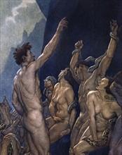 """""""La Divine Comédie"""", l'Enfer : les voleurs des choses de Dieu sont mordus par des serpents"""