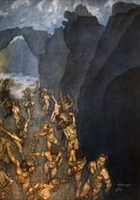 """""""La Divine Comédie"""", l'Enfer : les voleurs sont métamorphosés en serpents"""