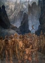 """""""La Divine Comédie"""", l'Enfer : les fauteurs de schismes et de discorde sont dépecés par l'épée d'un diable"""