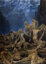 """""""La Divine Comédie"""", l'Enfer : les faussaires, falsificateurs des métaux ou alchimistes sont couverts de gale et de lèpre"""