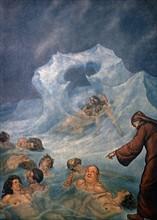 """""""La Divine Comédie"""", l'Enfer : les traîtres pris dans la glace"""