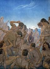 """""""La Divine Comédie"""", le Purgatoire : les âmes débarquent sur la plage de l'Antipurgatoire"""