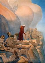 """""""La Divine Comédie"""", le Purgatoire : rencontre de Dante avec les âmes lentes"""