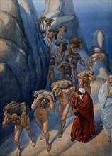 """""""La Divine Comédie"""", le Purgatoire : les orgueilleux"""