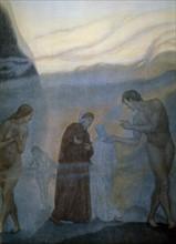 """""""La Divine Comédie"""", le Purgatoire : Dante dans la fumée des coléreux"""