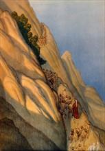 """""""La Divine Comédie"""", le Purgatoire : Dante rencontre Bonagiunta de Lucques"""