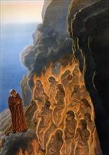 """""""La Divine Comédie"""", le Purgatoire : Les luxurieux se rapprochent de Dante"""