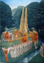"""""""La Divine Comédie"""", le Purgatoire : La procession mystique"""
