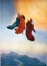 """""""La Divine Comédie"""", le Paradis : Montée au ciel de Dante et Béatrice"""