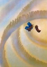 """""""La Divine Comédie"""", le Paradis : Dante et Béatrice dans les cercles célestes"""