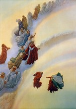 """""""La Divine Comédie"""", le Paradis : Les âmes de ceux qui ont fait le bien par amour de la gloire"""