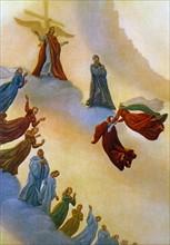 """""""La Divine Comédie"""", le Paradis : Dante et Béatrice rencontrent l'empereur Justinien"""
