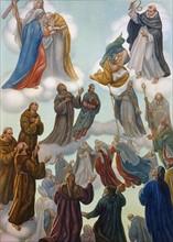 """""""La Divine Comédie"""", le Paradis : Rencontre de Dante avec saint Bonaventure"""