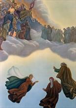 """""""La Divine Comédie"""", le Paradis : Dante rencontre Cacciaguida"""