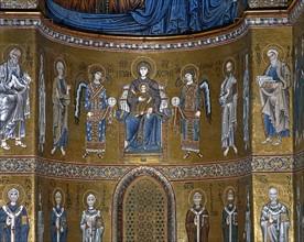 Mosaïques byzantines de la cathédrale Santa Maria NuovadeMonreale