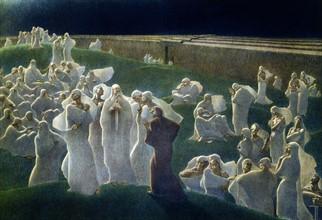 """""""La Divine Comédie"""", l'Enfer : Dante et Virgile dans les Limbes"""