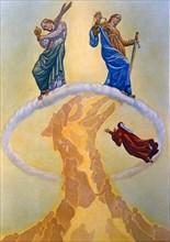 """""""La Divine Comédie"""", le Paradis : Dante rencontre l'aigle"""