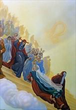 """""""La Divine Comédie"""", le Paradis : rencontre de Dante avec le cardinal saint Pierre Damien"""