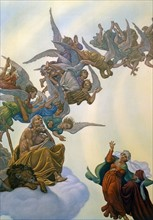 """""""La Divine Comédie"""", le Paradis : les hiérarchies angéliques"""