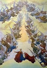"""""""La Divine Comédie"""", le Paradis : La cour céleste, anges et bienheureux"""