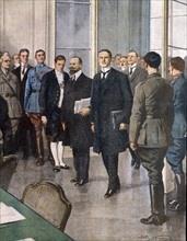 Signing of the Treaty of Versailles, 28 June 1919