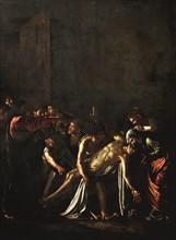 Caravage, La Résurrection de Lazare