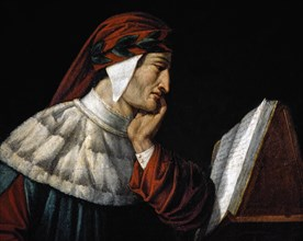 Runcaldier, Portrait of Dante (detail)