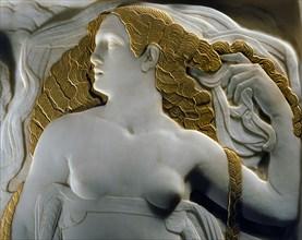 Campini, Allegorical figures, homage to Dante Alighieri (detail)