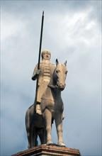 Statue équestre de Cansignorio della Scala à Vérone