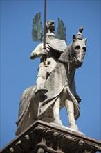 Statue équestre de Cangrande della Scala à Vérone