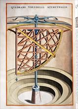Johannis Blaeu, horloge solaire