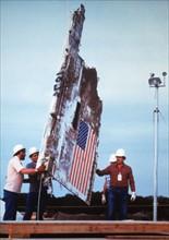 Explosion de la navette spatiale Challenger (janvier 1986)