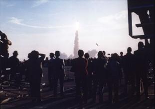 Lancement de Columbia STS-1