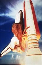 Lancement de COLUMBIA (STS-4)