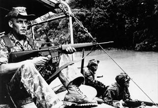 Soldats pendant la guerre du Vietnam
