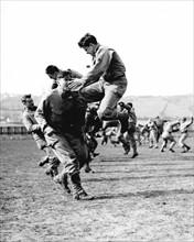 Entraînement des Rangers en Angleterre, avant le débarquement de Normandie