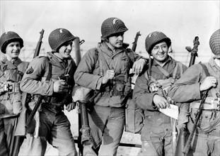Troupes américaines avant le Débarquement en Normandie (juin 1944)