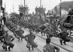 Troupes d'assaut américaines avant le Débarquement (juin 1944)