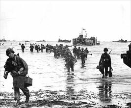 Le Débarquement sur les plages de Normandie (juin 1944)