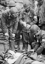 Bataille du Cotentin, près de Cherbourg (1944)