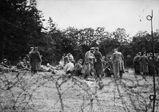 Officiers et soldats allemands faits prisonniers (1944)