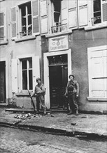 L'ancien quartier général allemand à Cherbourg (juin 1944)