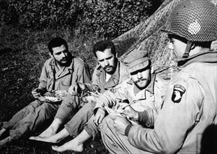 Parachutistes de la 101e division aéroportée (juin 1944)