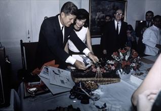 John F. Kennedy et Jackie Kennedy