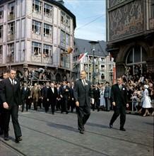 John F. Kennedy, Ludwig Erhard